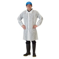 Kleenguard labcoats offer light-duty protection against dirt, grime and certain non-hazardous dry particulates.
